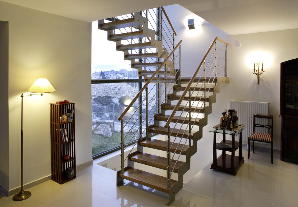 металлическая лестница тип 5