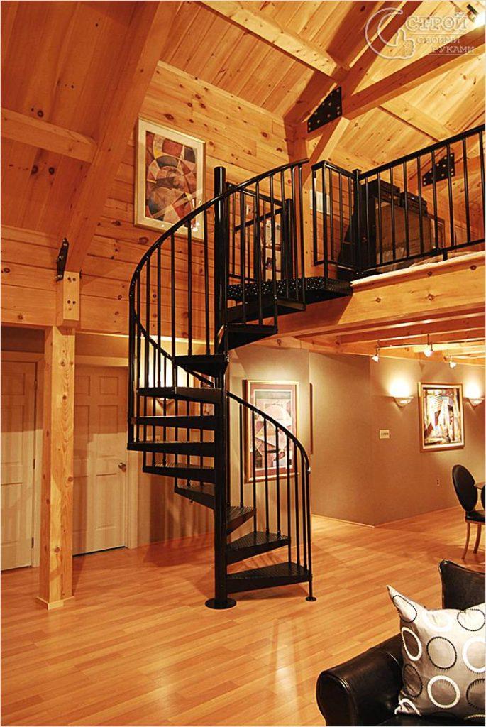 Винтовая лестница Тип 10