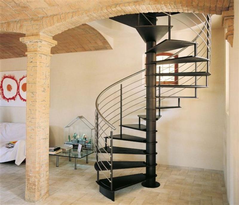 Винтовая лестница Тип 12