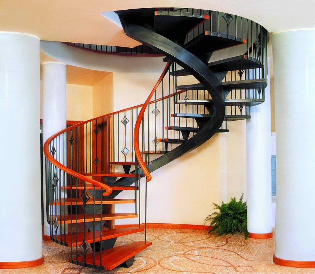Винтовая лестница Тип 8
